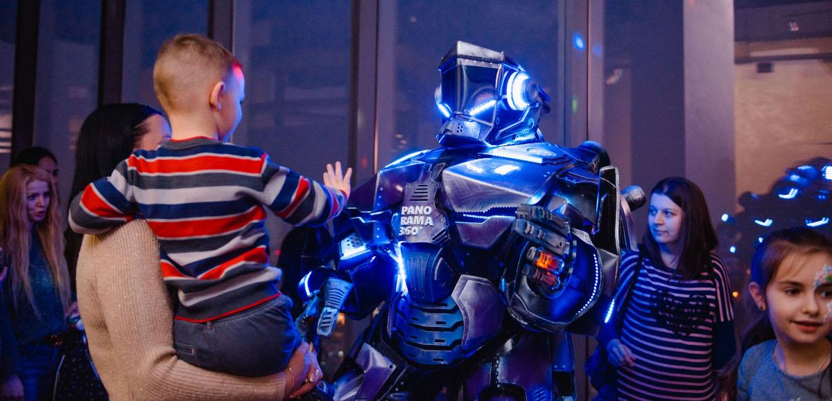 Гигантский Робот VS Галилео