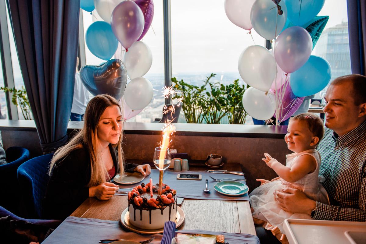 Отметить день рождения ребенка в Москва-Сити