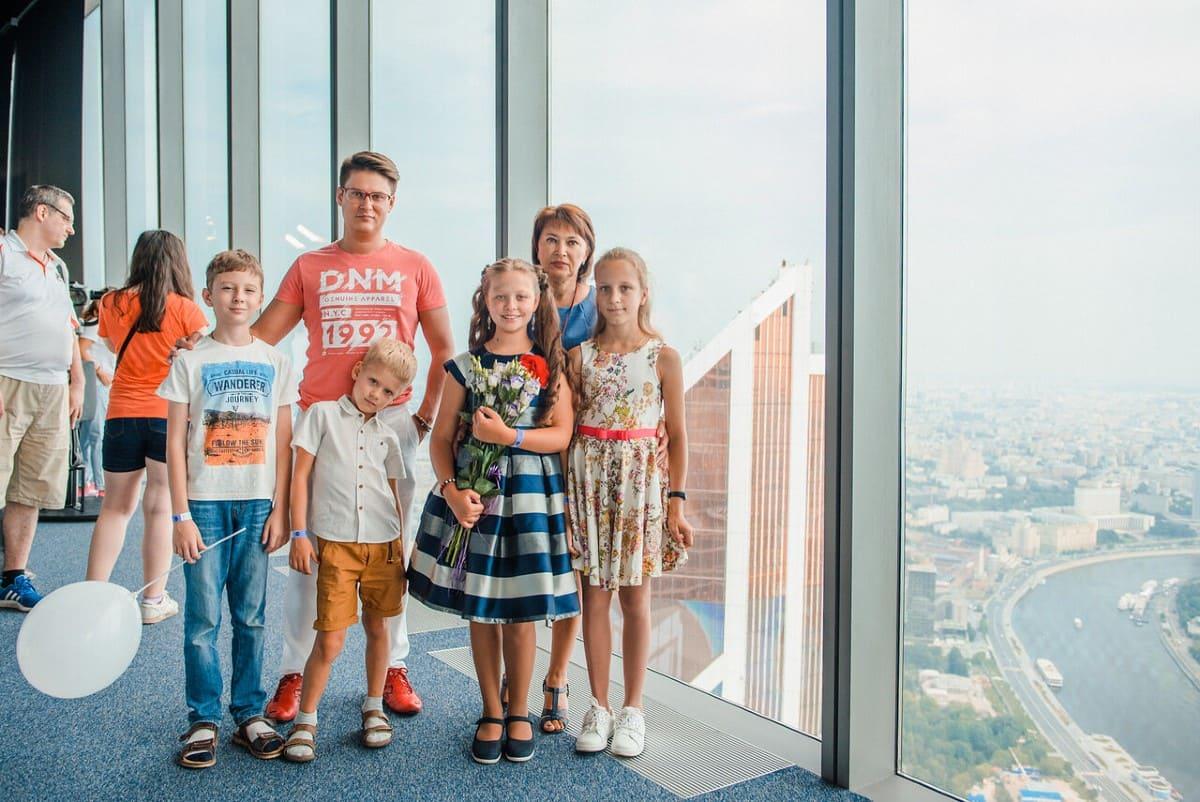 Где провести день с семьей в Москва-Сити