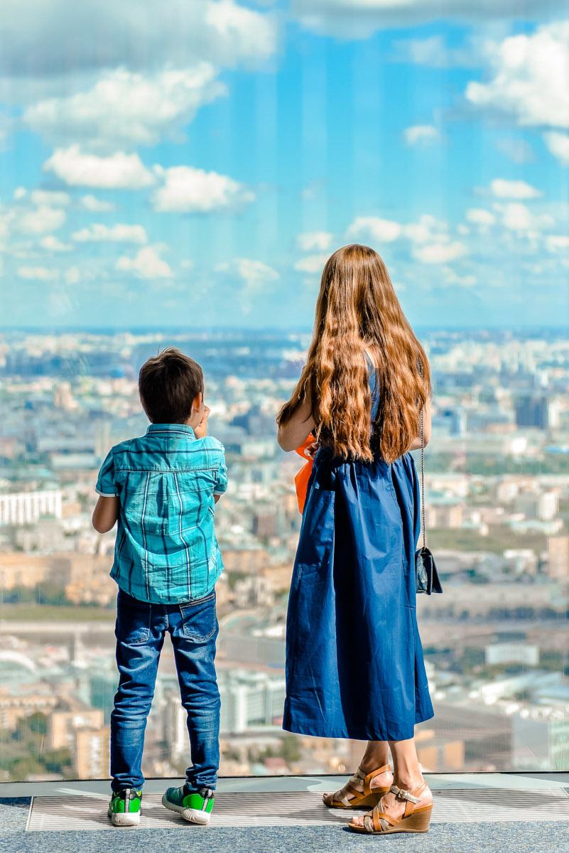 Смотровая площадка для детей в Москва-Сити
