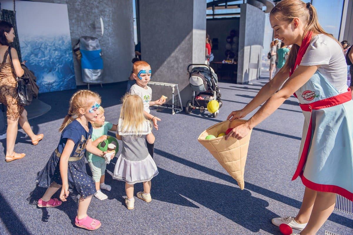 Детский праздник в Москва-Сити