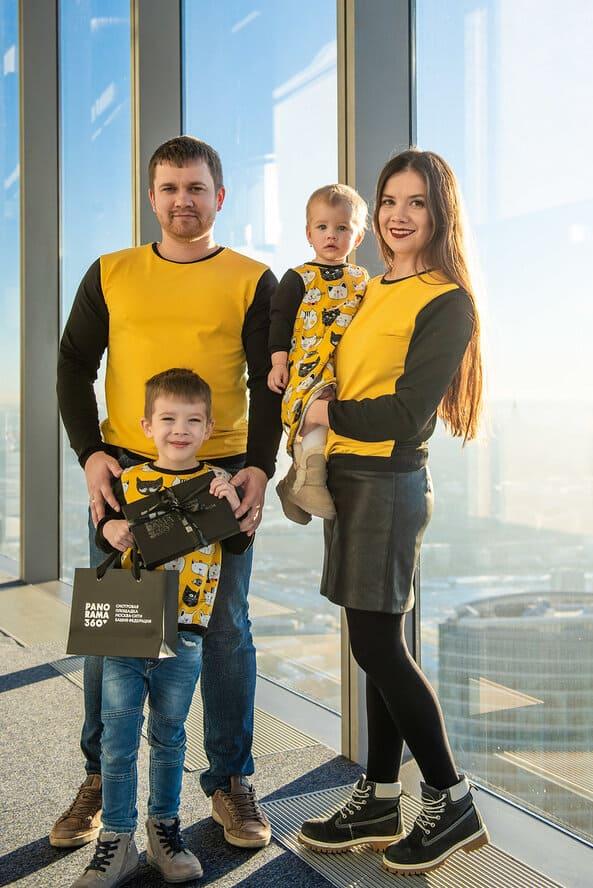 Семейный праздник в Москва-Сити