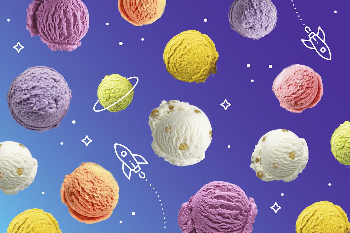 Попробуйте 66 вкусов мороженого бесплатно!
