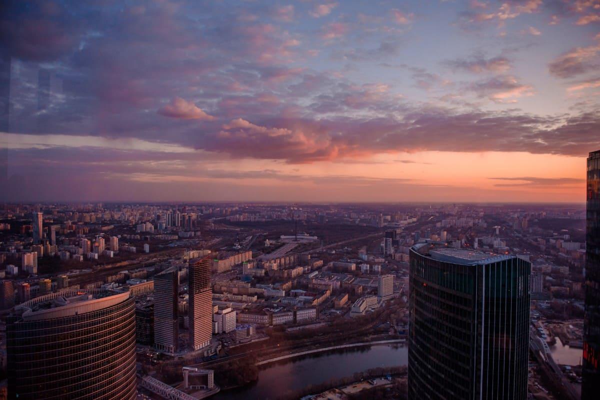 Где полюбоваться закатом в Москве